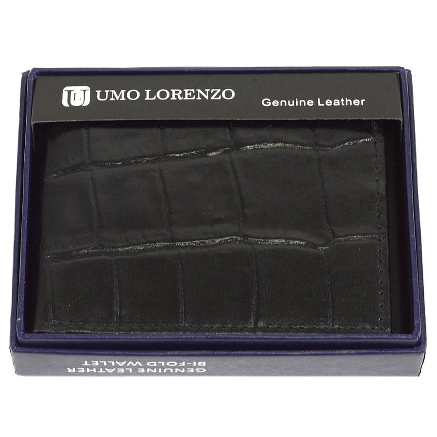 Bi-Fold Genuine Leather Black Wallet CCG5ABK