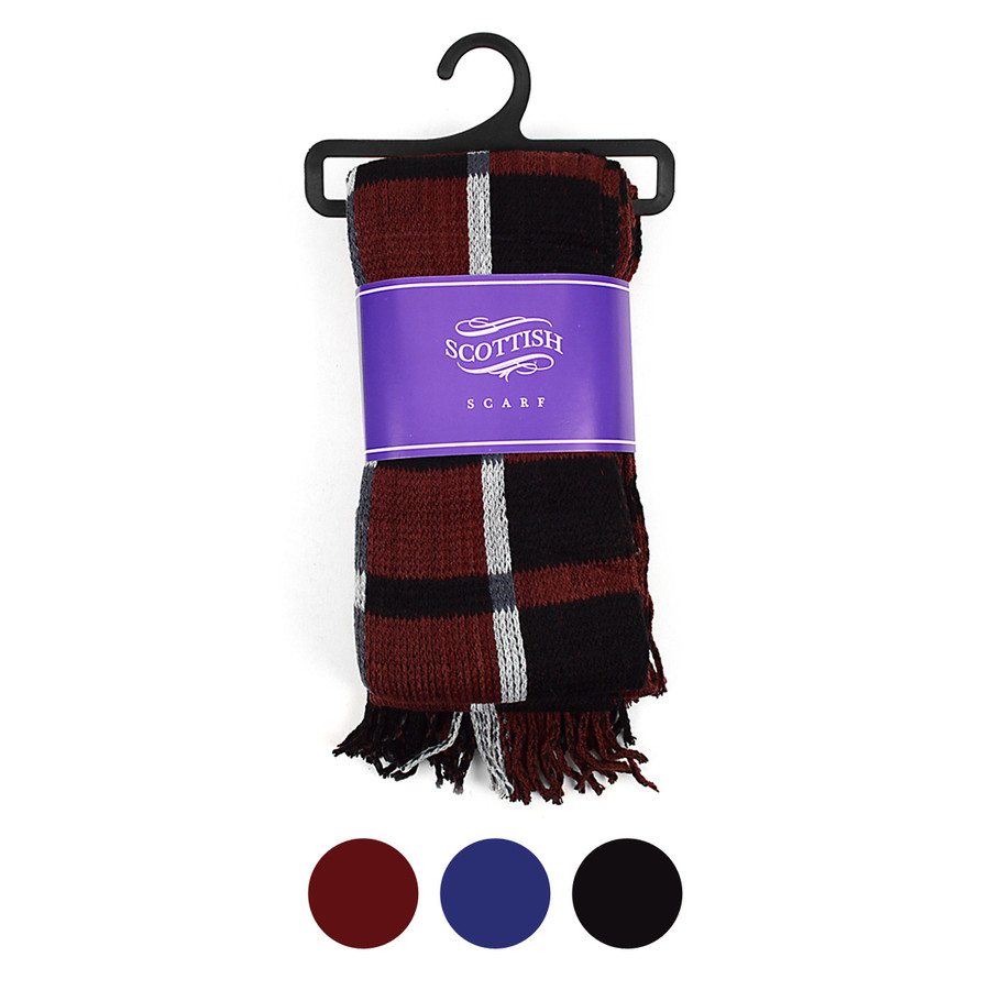Scottish Acrylic Winter Scarf - AKS10413