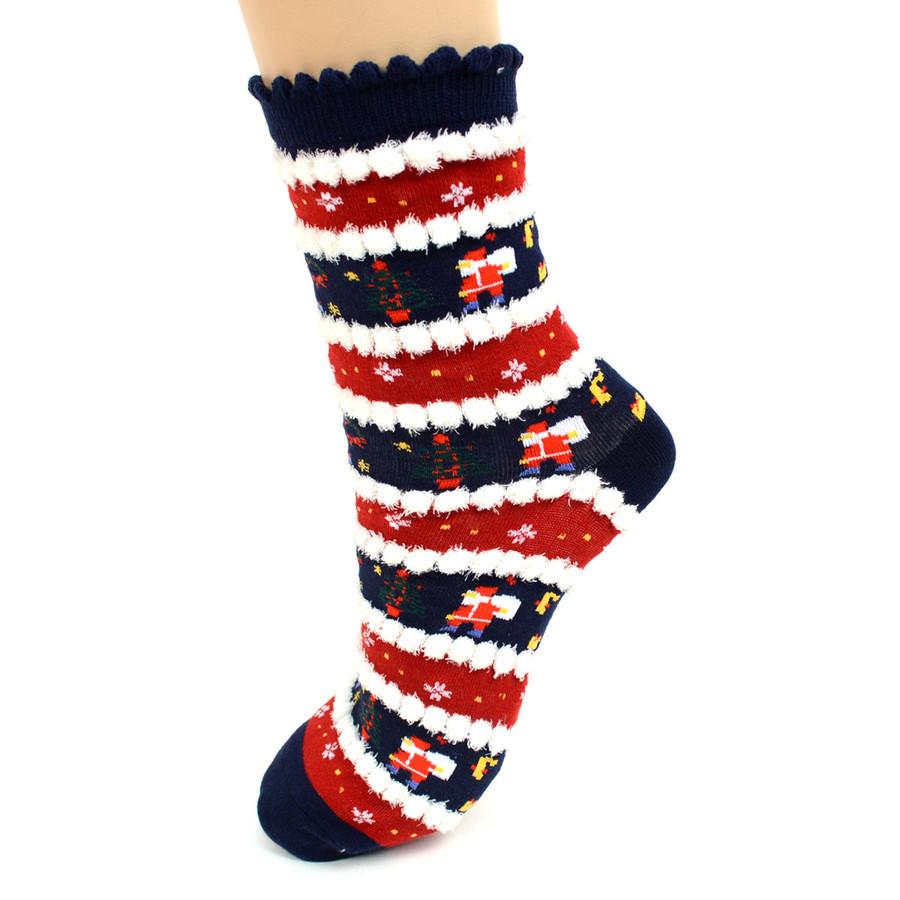Christmas Holidays Crew Socks for Women