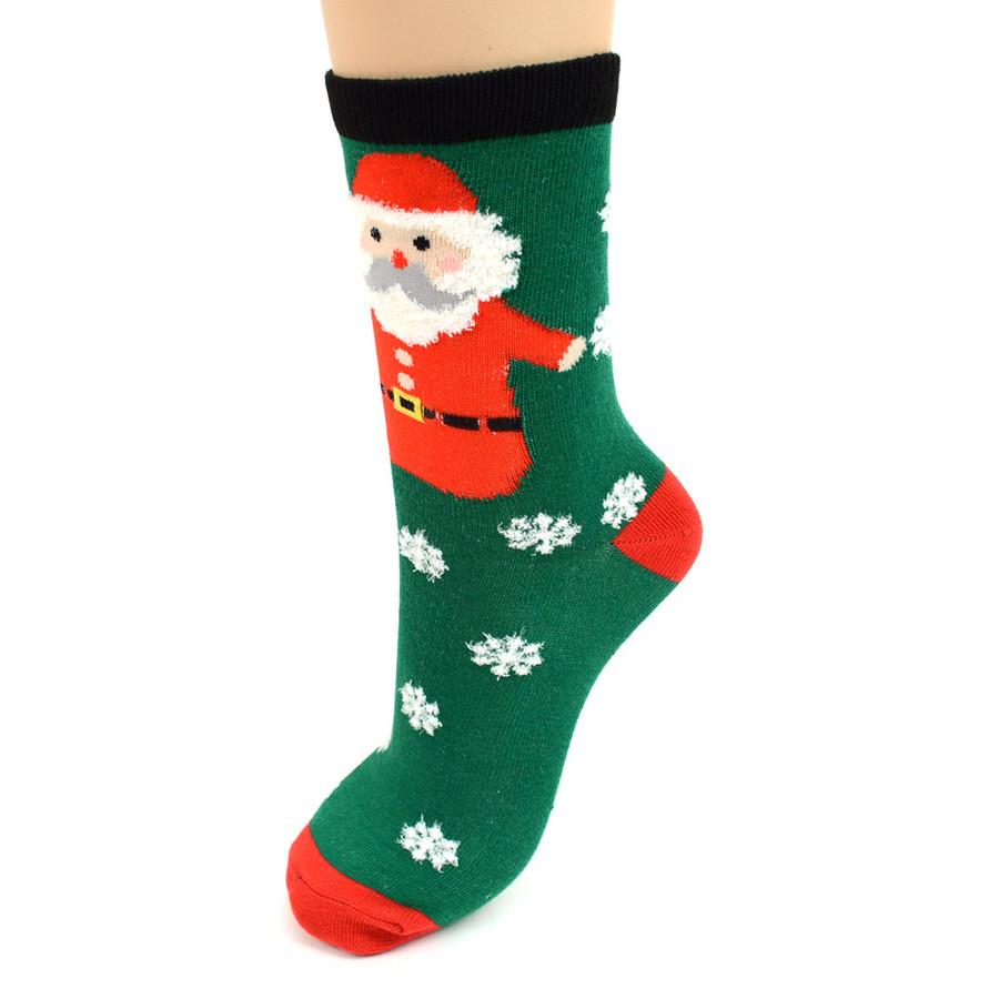 BG Christmas Holidays Women's Crew Socks - 3PK