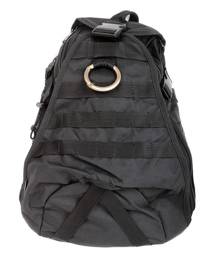 Sling Body Black Backpack