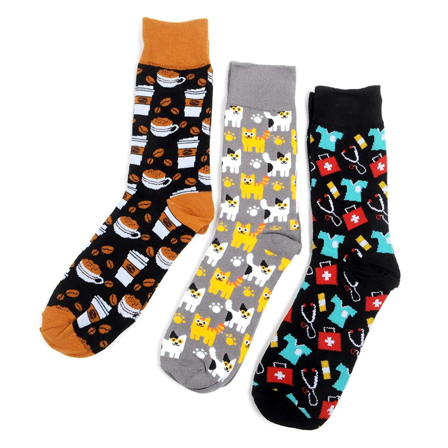 Men's Dream Guy Novelty Crew Socks