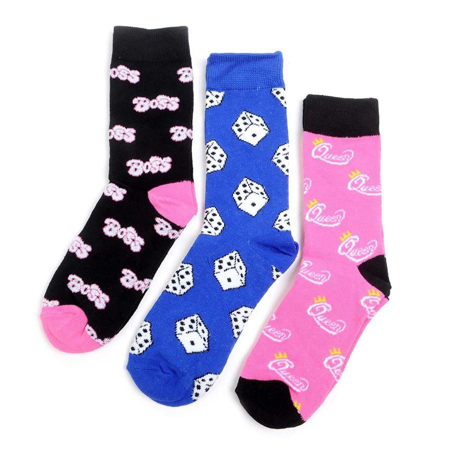 Women's Own the Game Novelty Crew Socks