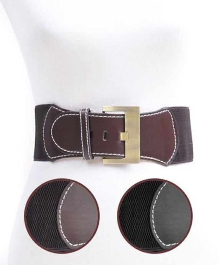 Urban Cowgirl Elastic Waist Belt Vintage Western Rodeo Style (BBA3255)