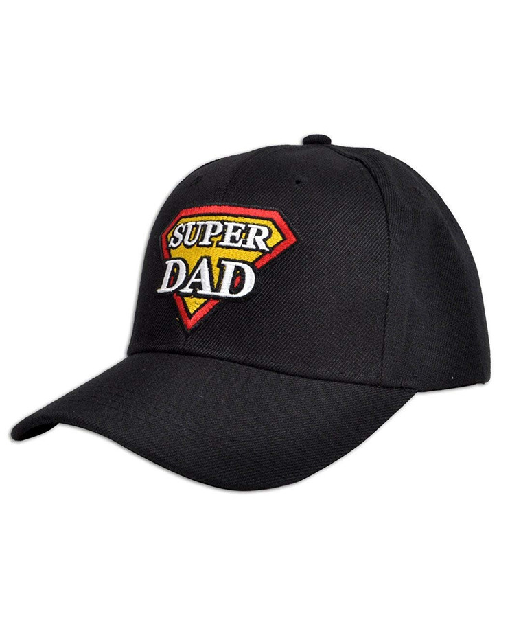 boxed-gifts Super Dad Embroidered Baseball Cap