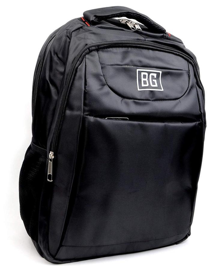 BG Black Durable Laptop Business Travel Ventilated Moisture Wick Padded Backpack
