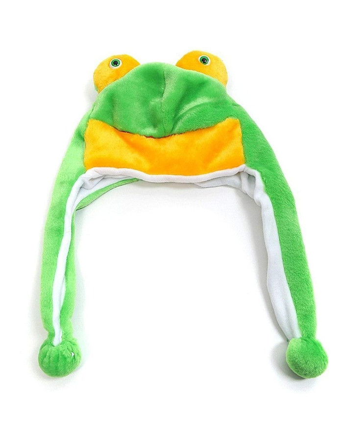 Frog Plush Animal Hat with Ear Flaps