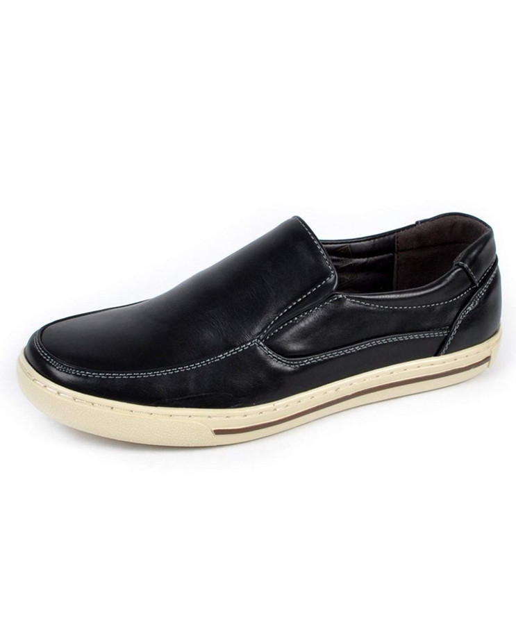Men's Comfort Stride Loafers (13C, Black)