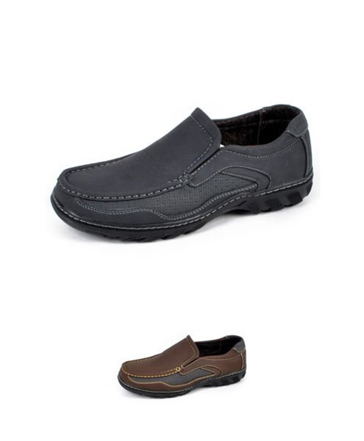 Men's Cool and Casual Loafers Slip On Business Casual Breathable Comfort