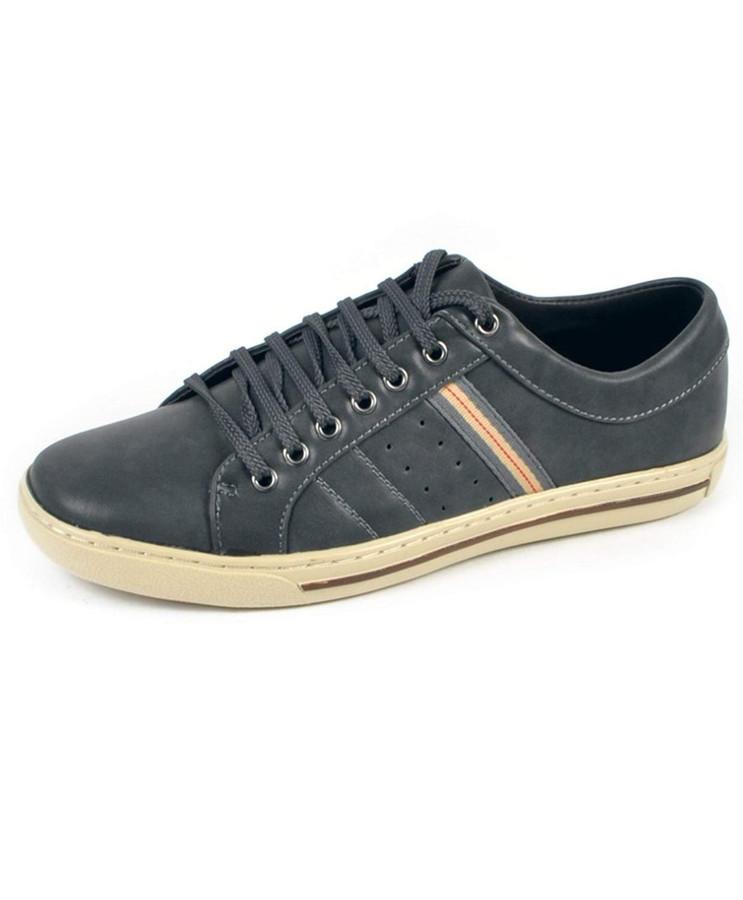 Men's Casual Hipster Shoe (9.5C, Grey)