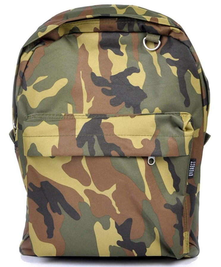 Mainstream Camouflage Print Backpack