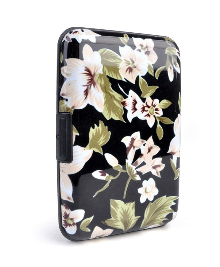 Grandeur Flower Card Case Holder