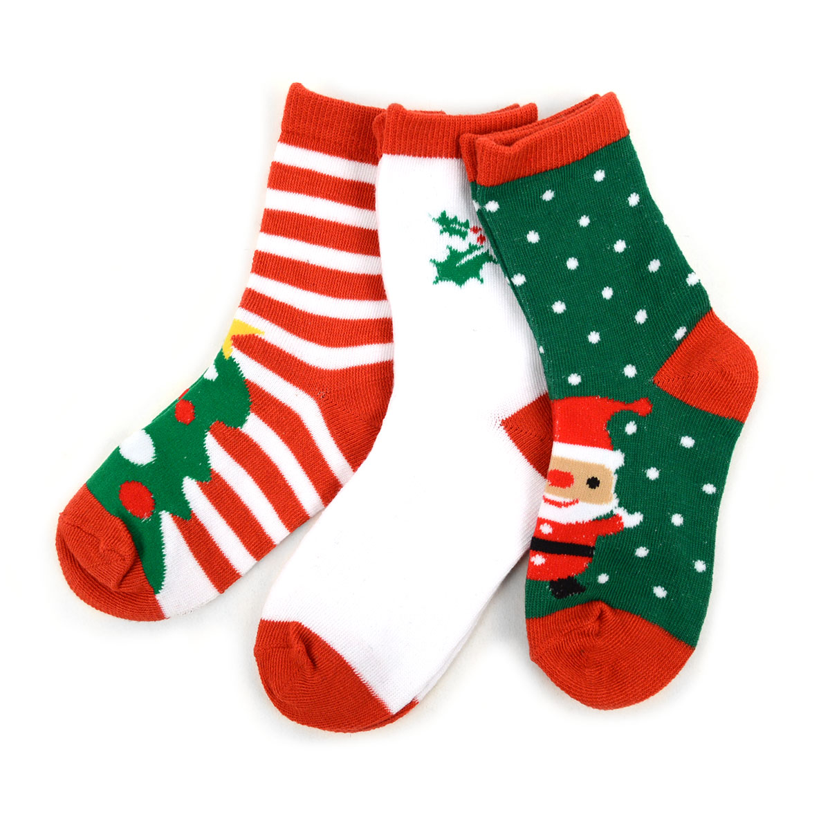 51e7e0d585f Kids Christmas Holidays Crew Socks 4-7 Yrs- 3 Pairs Pack - BOXED GIFTS