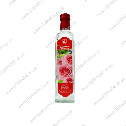 Rose Water - Chtaura Conserves - 12 x 500ml