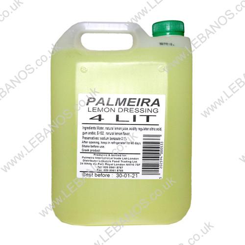 Lemon Dressing - Palmeira - 4 x 4L