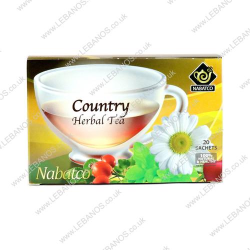 Country Herbal Tea - Nabatco - 12x20 env