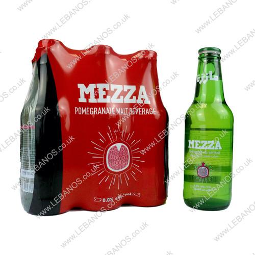 Malt Beverage Pomegranate - Mezza - 24 x 250ml