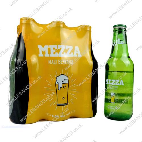 Malt Beverage Plain - Mezza - 24 x 250ml
