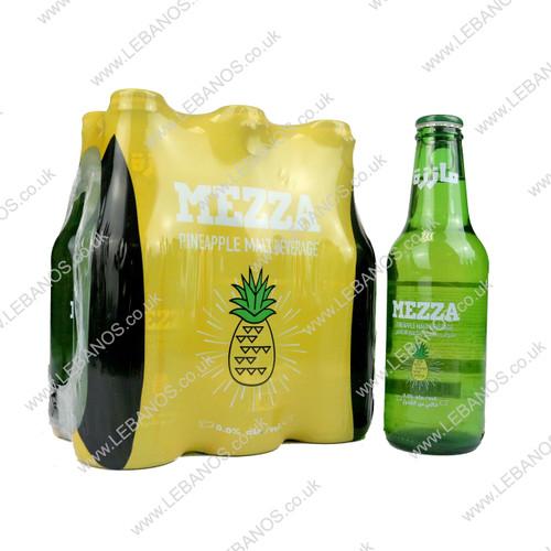 Malt Beverage Pineapple - Mezza - 24 x 250ml