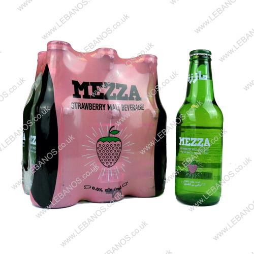 Malt Beverage Strawberry - Mezza - 24 x 250ml