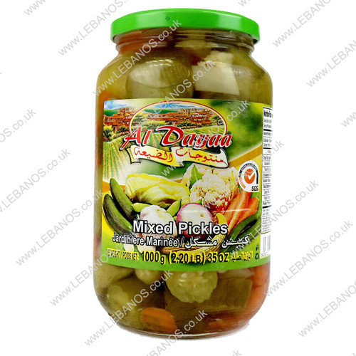 Mixed Pickles - Al Dayaa - 12 x 1kg