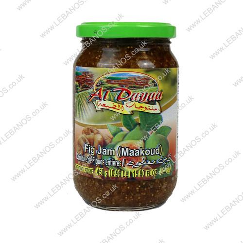 Fig Jam (Maakoud) - Al Dayaa - 12 x 450g