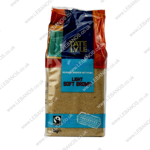 Light Soft Brown Sugar - Tate Lyle - 10 x 1kg