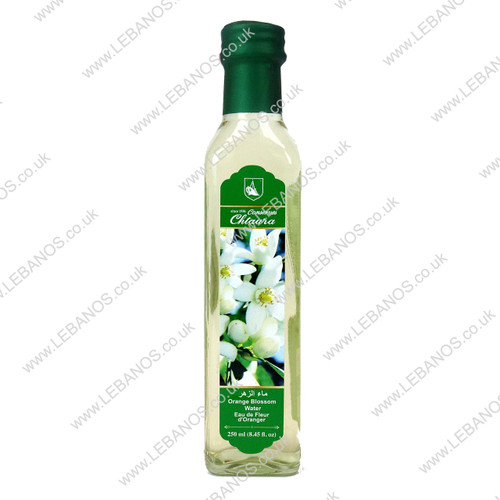 Orange Blossom Water - Chtaura Conserves - 24 x 250ml