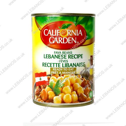 Fava Beans Lebanese Type - California Garden - 24x400g