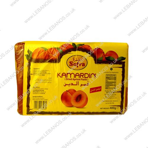 Dried Apricot Paste Kamardin - Sofra - 400g
