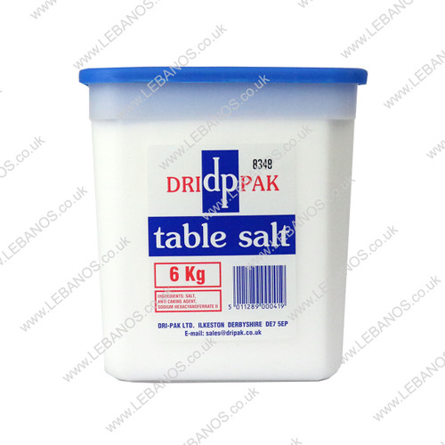 Table Salt - Dri Pak - 6kg