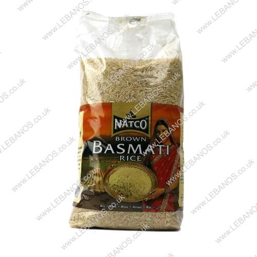 Brown Basmati Rice - Natco - 8 x 2kg