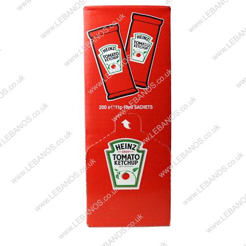 Tomato Ketchup Sachets - Heinz - 200 x 10g