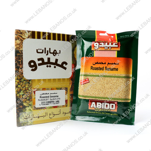 Sesame Seeds Roasted - Abido - 10 x 100g