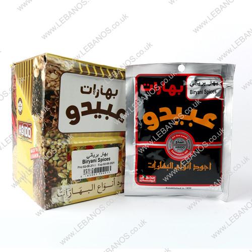 Biryani Spices - Abido - 12x50g
