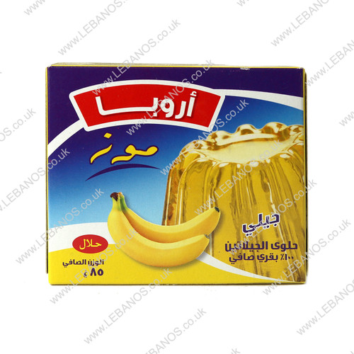 Jelly Banana - Aruba - 48 x 85g