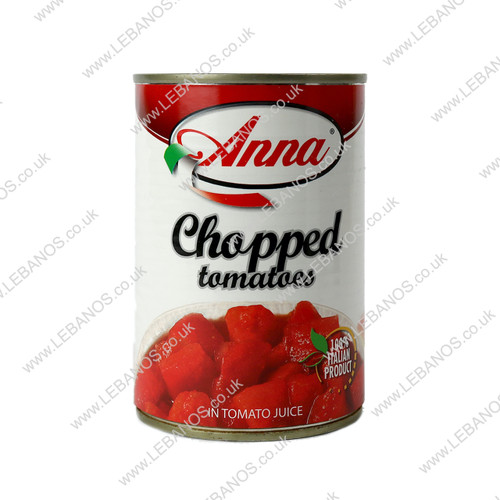 Chopped Tomatoes Easy Open - Anna - 12 x 400g