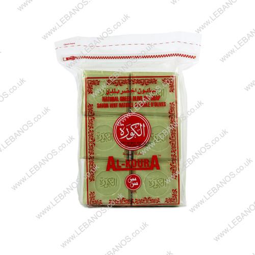 Natural Green Olive Oil Soap - Al Koura - 1kg