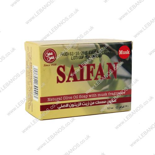 Natural Olive Oil Soap - Saifan - 18 x 150g
