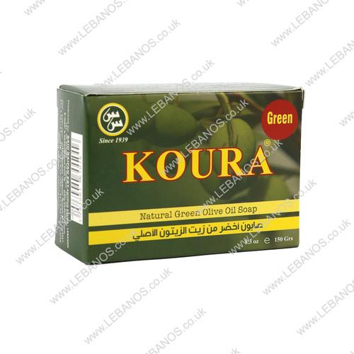 Natural Green Olive Oil Soap - Al Koura - 18 x 150g