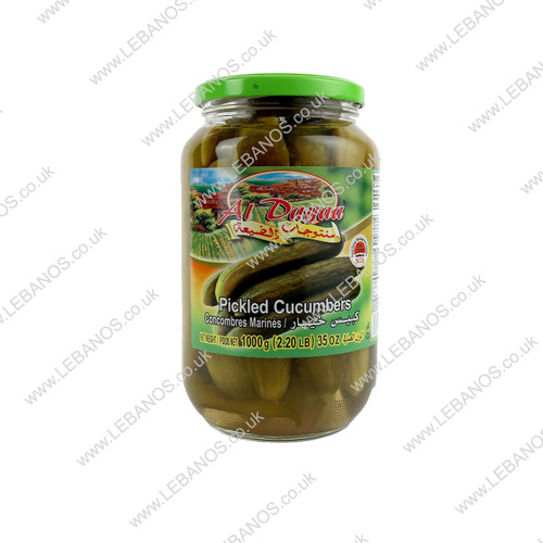 Pickled Cucumber - Al Dayaa - 12 x 1kg