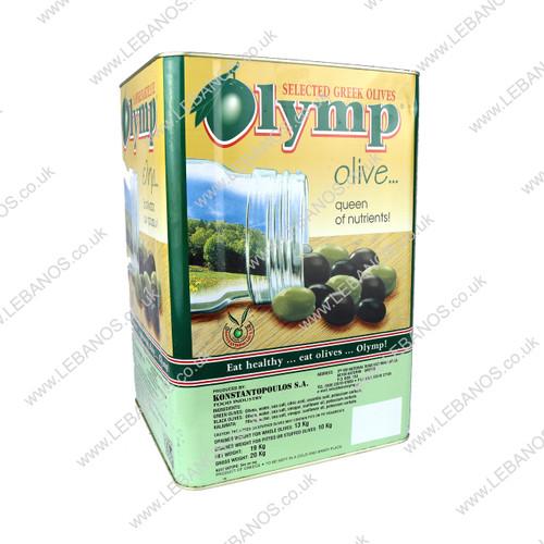 Black Olives - Lebanese Type - Olymp - 12kg