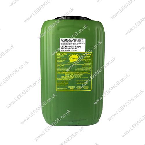 Green Olives (Lebanese Type) - Olymp - 12kg