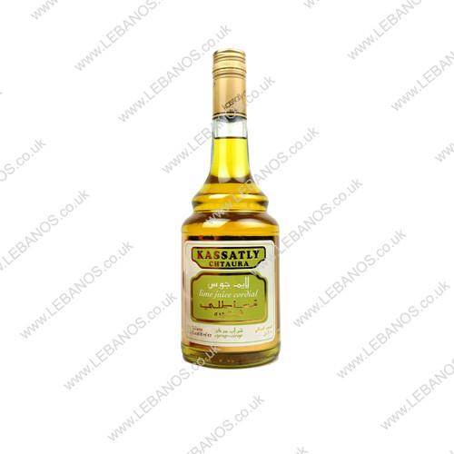 Lime Syrup - Kassatly - 12 x 600ml