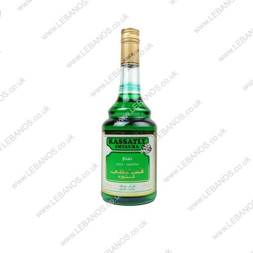 Mint Syrup - Kassatly - 12 x 600ml