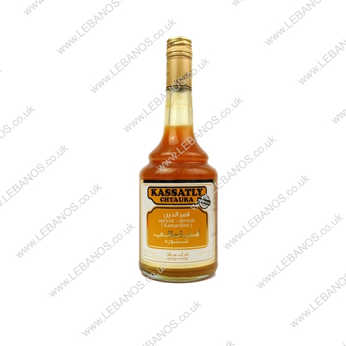Kamaredine (Apricot Syrup) - Kassatly - 12x600ml