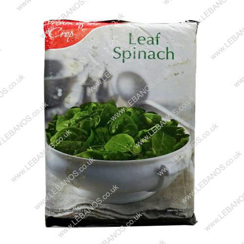 Leaf Spinach Frozen - Cream of the Crop - 12 x 907g