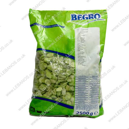 Peeled Broad Beans (Frozen) - Lebanos - 4 x 2.5kg