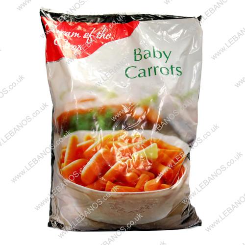 Baby Carrots Frozen - Lebanos - 4x2.5kg