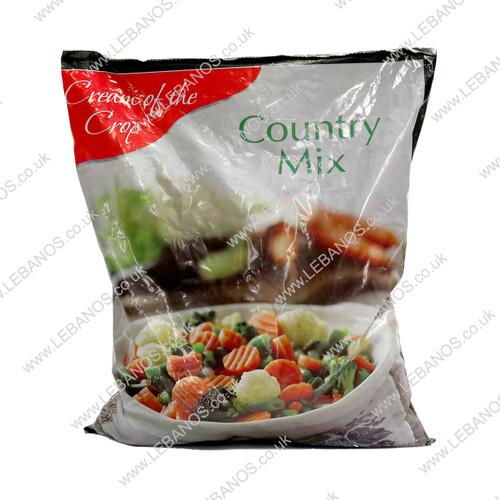 Country Mix Veg Frozen - Cream of the Crop 12x907g